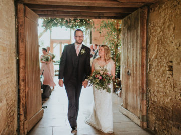 Abi & Will's Stone Barn Wedding