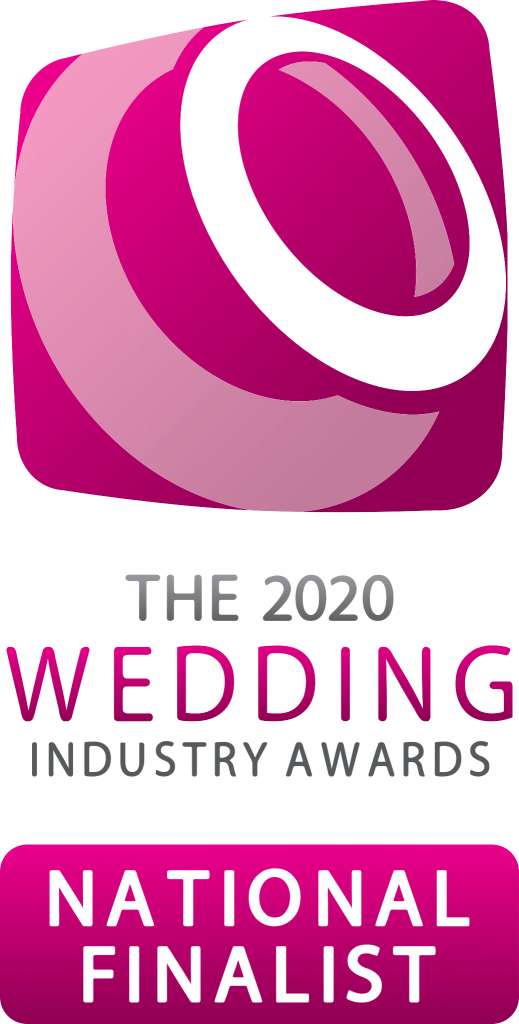 National Finalist badge. the wedding industry awards